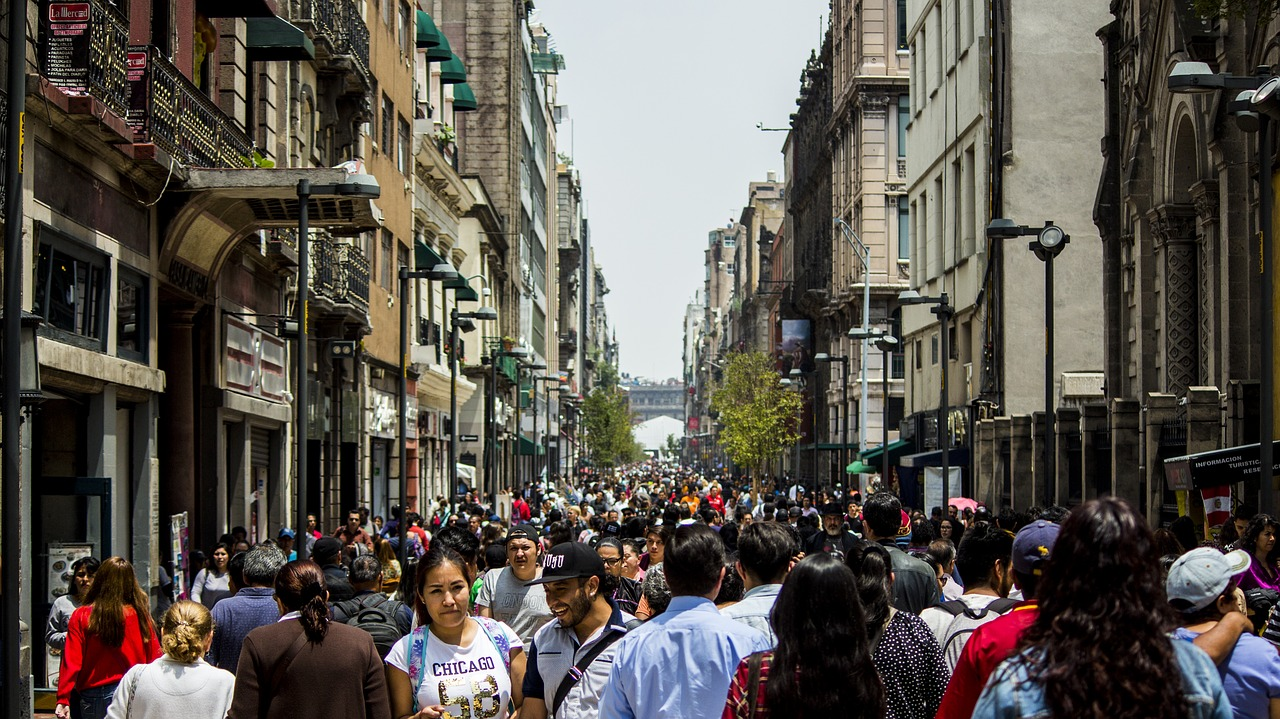 people in Mexico City