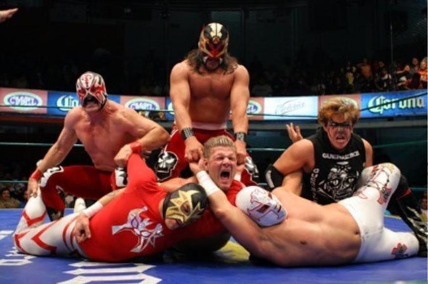 Mexikanische Wrestler