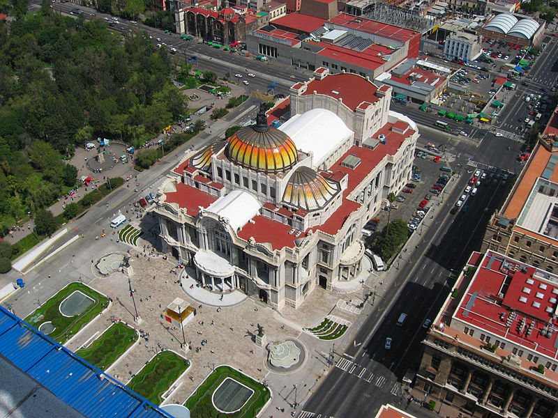 Mexico City - Palace of fine arts.  Credit: Creative Commons/Jeses