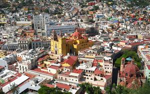 Thumbnail for Scenic Views of Mexico City From Top